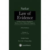 Sarkar's Law of Evidence – In India, Pakistan, Bangladesh, Burma, Ceylon, Malaysia & Singapore [2 Vols.] by LexisNexis