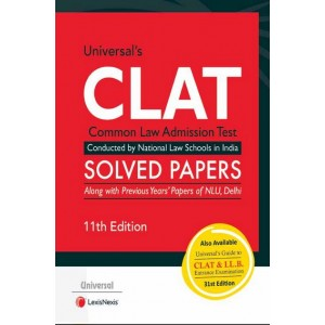 Universal's CLAT Solved Papers | Common Law Admission Test 2021 by Lexisnexis