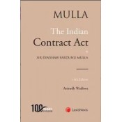 Mulla's The Indian Contract Act by for BSL & LLM by Anirudh Wadhwa | Lexisnexis