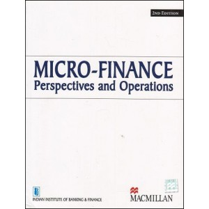 IIBF's Micro-Finance Perspectives and Operations by MacMillan Publications