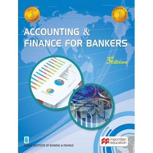 MacMillan Publication's Accounting and Finance for Bankers for JAIIB New Syllabus Exam by IIBF