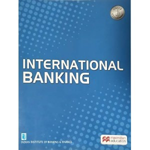 MacMillan Publisher's International Banking for CAIIB Optional subject by IIBF