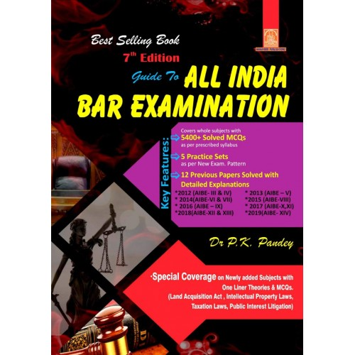 Mahaveer Publication's Guide to All India BAR Examination 2020 [AIBE] by Dr. P. K. Pandey