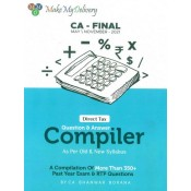 CA. Bhanwar Borana's Direct Tax Question & Answer (Q & A) Compiler for CA Final May 2021 Exam | DT Compiler - Make My Delivery
