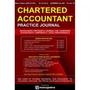 Manupatra's Chartered Accountants Practice Journal [CAPJ]