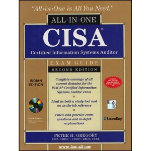 McGrawHill's All in one CISA (Certified Information Systems Auditor) Exam Guide by Peter H. Gregory