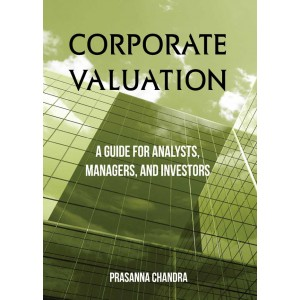McgrawHill Education's Corporate Valuation : A Guide for Analysis, Managers & Investors by Prasanna Chandra