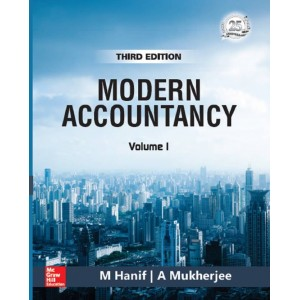 MCgrawHill Education's Modern Accountancy Volume I by M. Hanif, A. Mukherjee