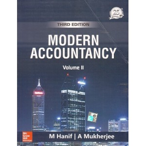 MCgrawHill Education's Modern Accountancy Volume II by M. Hanif, A. Mukherjee