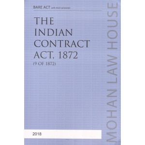 Mohan Law House's The Indian Contract Act, 1872 Bare Act