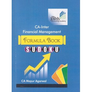 CA. Mayur Agarwal's Financial Management Formula Book Sudoku for CA Inter May 2019 Exam by Mrs. Joshi's Accounting Academy