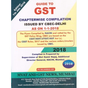 MVAT & GST News Guide to GST by Samir Bajaj