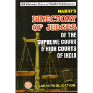Nabhi's Directory of Judges of Supreme Court & High Courts of India