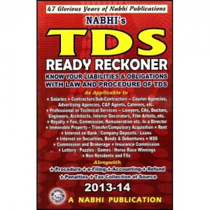Nabhi's TDS Ready Reckoner