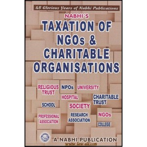 Nabhi's Guide to Taxation of NGO's & Charitable Organisations as per Finance No.2 Act by Ajay Kumar Garg