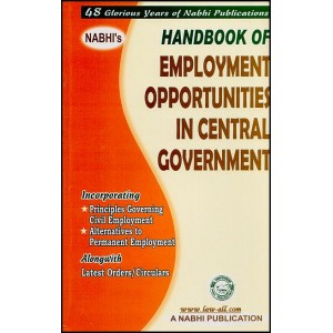 Nabhi's Handbook of Employment Opportunities in Central Government by Ajay Kumar Garg