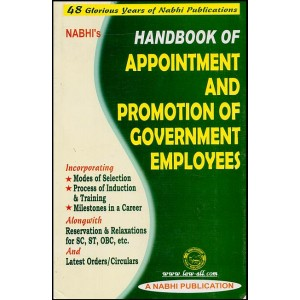 Nabhi's Handbook of Appointment and Promotion of Government Employees by Ajay Kumar Garg