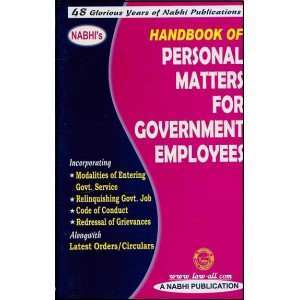 Nabhi's Handbook of Personal Matters for Government Employees by Ajay Kumar Garg