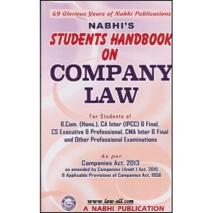 Nabhi's Students Handbook on Company Law
