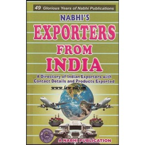 Exporters from India by Nabhi Publication