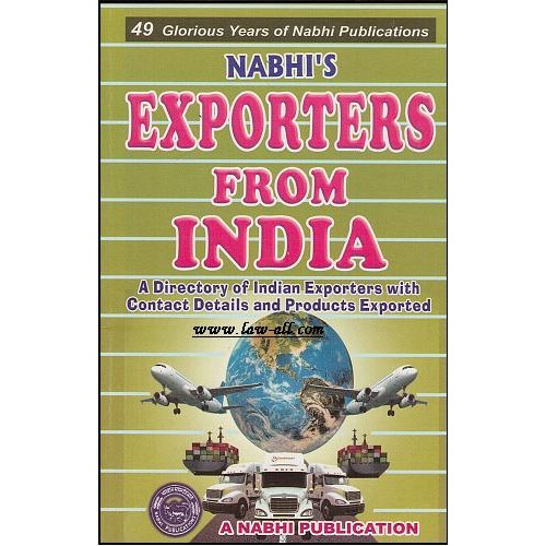 Exporters from India (1st edn. Sep.2015), Nabhi Publication