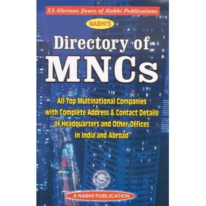 Nabhi Publication's Directory of MNCs 2019