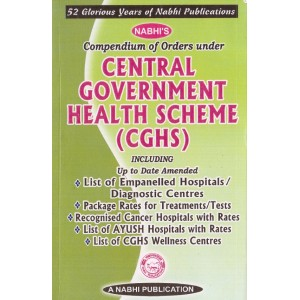 Nabhi's Compendium of Orders Under Central Government Health Scheme (CGHS)
