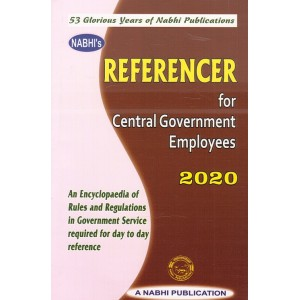 Nabhi's Referencer for Central Government Employees 2020 | CGS Handbook/Yearbook 2020