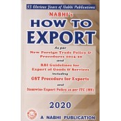 Nabhi's How to Export 2020 by Ajay Kumar Garg