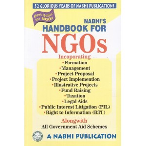 Nabhi's Handbook For NGOs alonwith All Government Aid Schemes [2020 Edition]