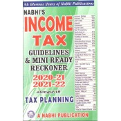 Nabhi's Income Tax Guidelines & Mini Ready Reckoner 2020-21 & 2021-22 Alongwith Tax Planning