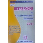 Nabhi's Referencer for Central Government Employees 2021| CGS Handbook/Yearbook 2021
