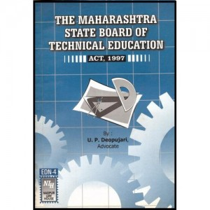 Adv. U. P. Deopujari's Maharashtra State Board of Technical Education by Nagpur Law House