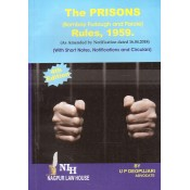 Adv. U. P. Deopujari's The Prisons (Bombay Furlough & Parole) Rules, 1959 by Nagpur Law House