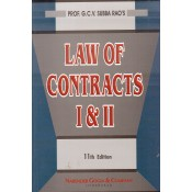 Narender Gogia & Company's Law of Contracts I & II by Prof. G. C. V. Subba Rao