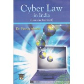 New Era Law Publisher's Cyber Law In India (Law on Internet) For B.S.L by Dr. Farooq Ahmad