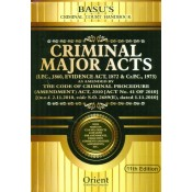 Orient Publishing Company's Criminal Court Handbook containing Criminal Major Acts (IPC, Evidence, Cr.P.C) with Free CD by Adv. N. D. Basu