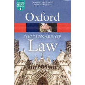 Oxford's Dictionary of Law (Eng-Eng) by Jonathan Law