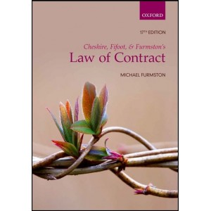 Oxford's Law of Contract by Michael Furmston, 2018-19