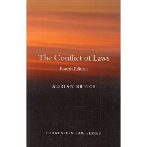 Oxford's The Conflict of Laws by Adrian Briggs | Clarendon Law Series