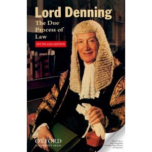 Oxford's The Due Process of Law by Lord Denning