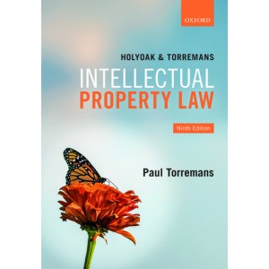 Oxford's Intellectual Property Law [IPR] by Holyoak & Paul Torremans