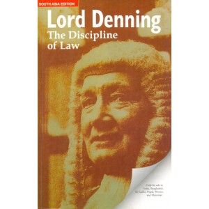 Oxford's The Discipline of Law by Lord Denning