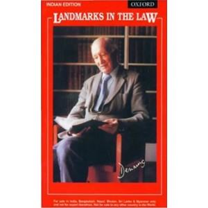 Oxford's Landmarks in the Law by Lord Denning