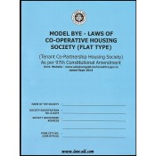 The Model Bye - Laws of Co-operative Housing Society (Flat Type) by Pune District Co-op Hsg. Federation Ltd.