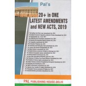 Pal Publishing House's 20+ in One Latest Amendments and New Acts, 2019 by Sanjeev Chopra