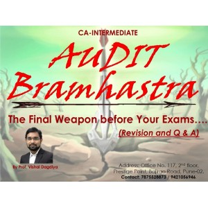 Audit Bramhastra (Revision & Q & A) for CA Intermediate May 2019 Exam by Prof. Vishal Dagdiya | Pathfinder Professional Academy