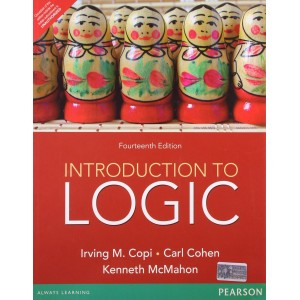 Pearson's Introduction to Logic by Irving M . Copi