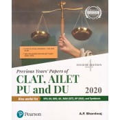 Pearson's Previous Years Papers of CLAT, AILET PU and DU (2008-2019) by A P Bhardwaj