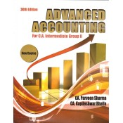 Advanced Accounting for CA Intermediate Group II May 2018 Exam [New Syllabus] by CA. Parveen Sharma, CA. Kapileshwar Bhalla | Pooja Law House